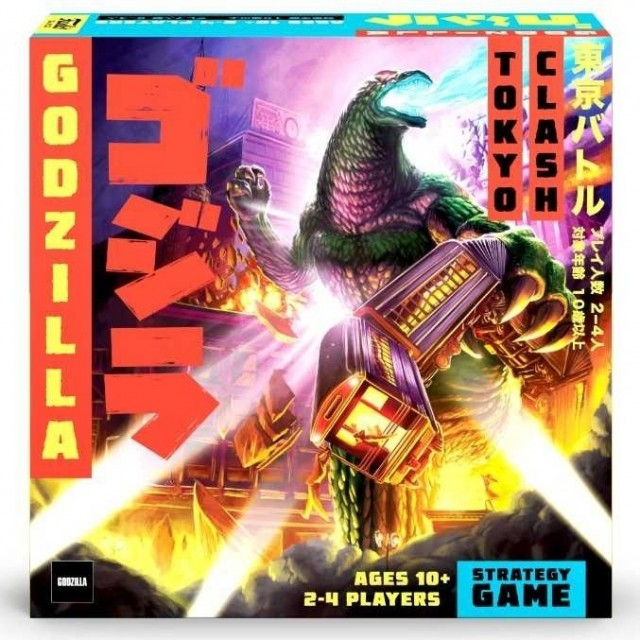 Godzilla Tokyo Clash Coming this Spring from Funko (Prospero Hall)