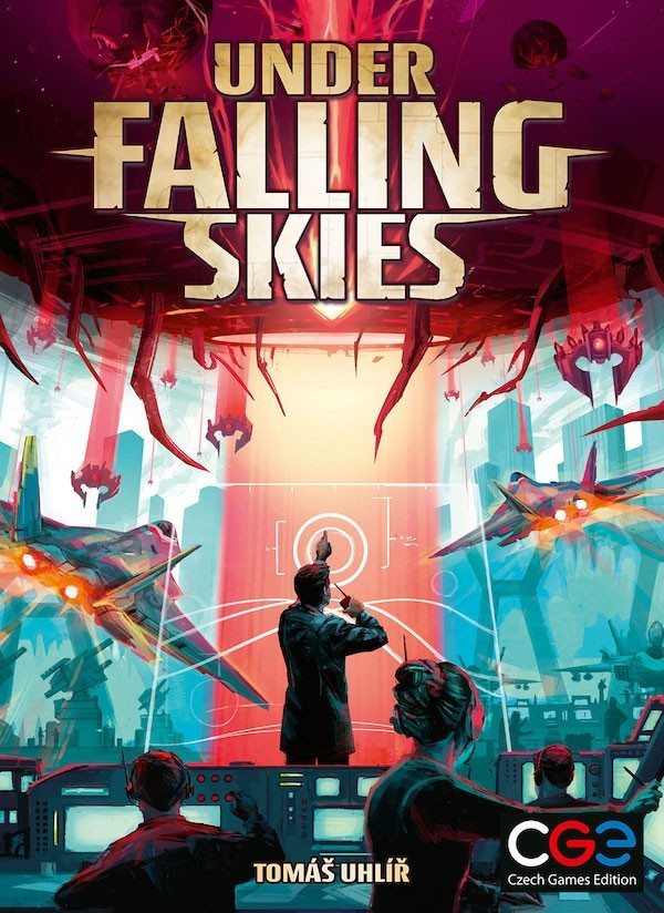 Under Falling Skies Solo Game Coming from Czech Games Edition