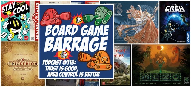 Trust is Good, Area Control is Better - Board Game Barrage