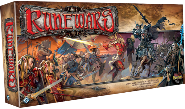 Runewars - Thoughts after initial game