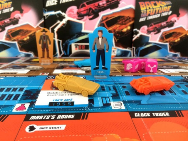 Back to the Future: Dice Through Time Board Game Review
