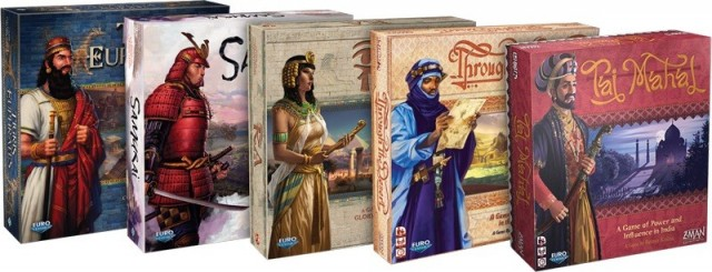Z-Man Games Sunsets Euro Classics Line