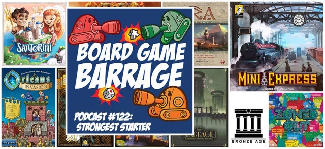 Strongest Starter - Board Game Barrage