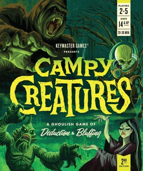 Campy Creatures 2nd Edition Board Game Review
