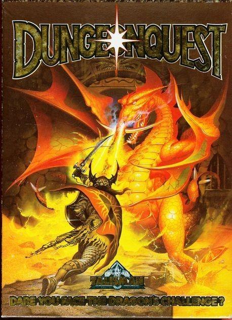 DungeonQuest 85 -1000 Cardboard Cuts