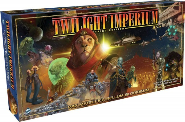 Discovering Ameritrash Board Games: Twilight Imperium 3