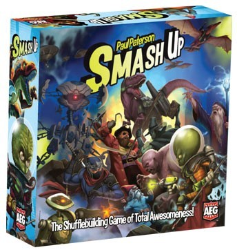 Smash Up - Boardgame Review