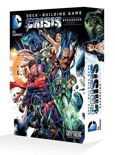 DC Comics Deck Building Game: Crisis Expansion Pack 1