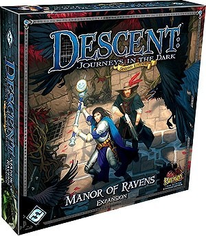 Descent Journeys in the Dark 2nd Edition: Manor of Ravens Expansion