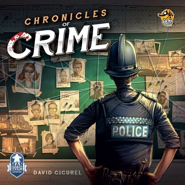 Chronicles of Crime Board Game Review
