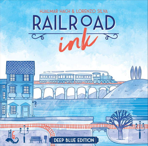 Play Matt: Railroad Ink Deep Blue Review