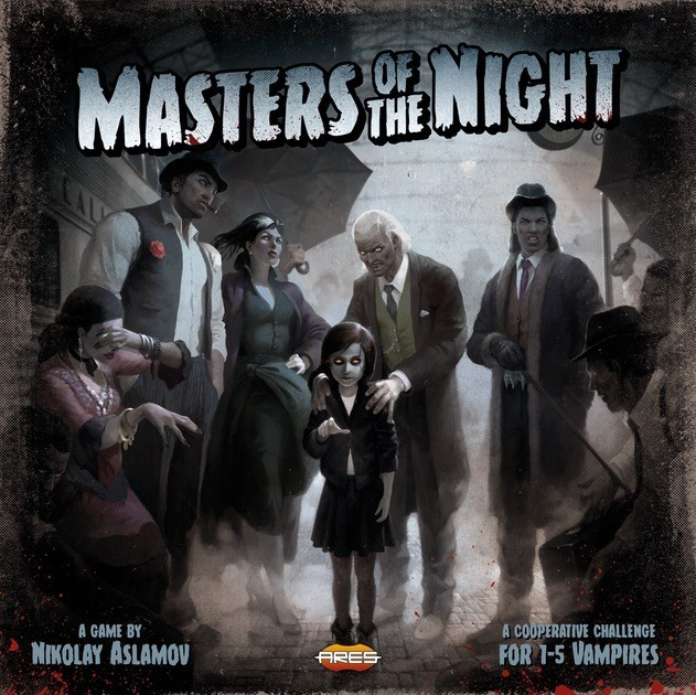Masters of the Night Coming to Retail
