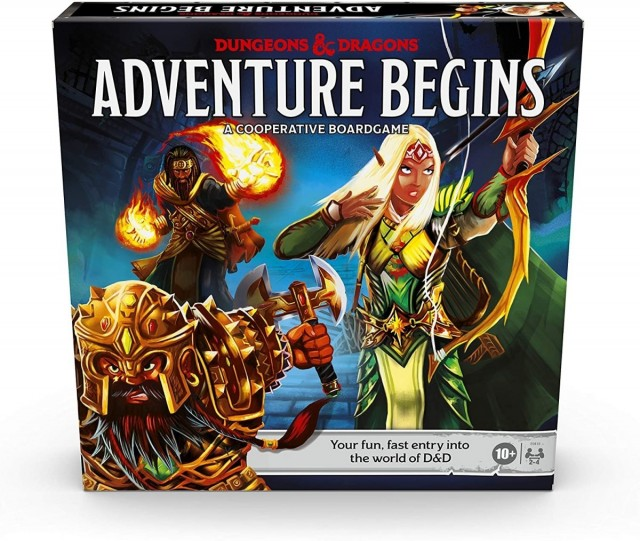 D & D Adventure Begins Board Game Announced by Hasbro