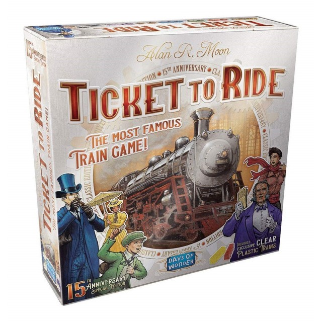 Flashback Friday - Ticket to Ride