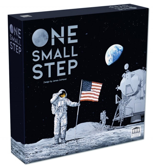 Academy Games Launches One Small Step - Apollo 11 Board Game on Kickstarter
