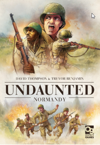 Deck building Wargame Undaunted Normandy coming in August from Osprey Games