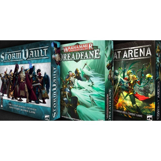 Warhammer Triple Threat- Storm Vault, Combat Arena, Dreadfane Review