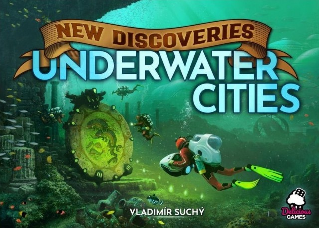 Underwater Cities: New Discoveries Expansion Coming This Fall From Rio Grande Games