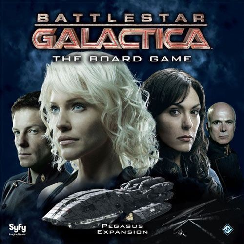 Battlestar Galactica: The Board Game - Pegasus Expansion