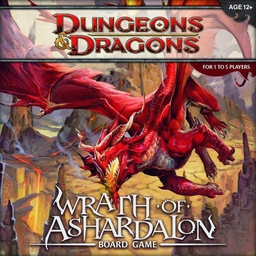 Wrath of Ashardalon Dungeons & Dragons Board Game