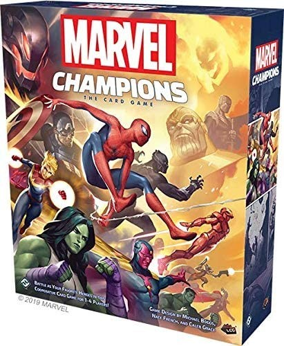 Marvel Champions: A Board Game Review and Other Things Too