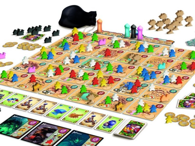 Five Tribes Board Game Review