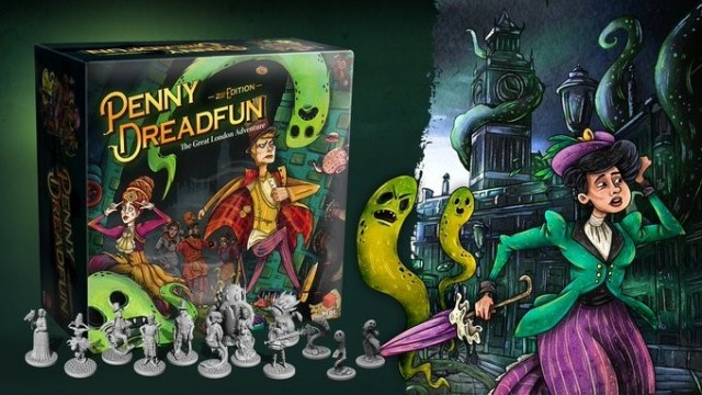 Penny Dreadfun: The Great London Adventure on Kickstarter Now