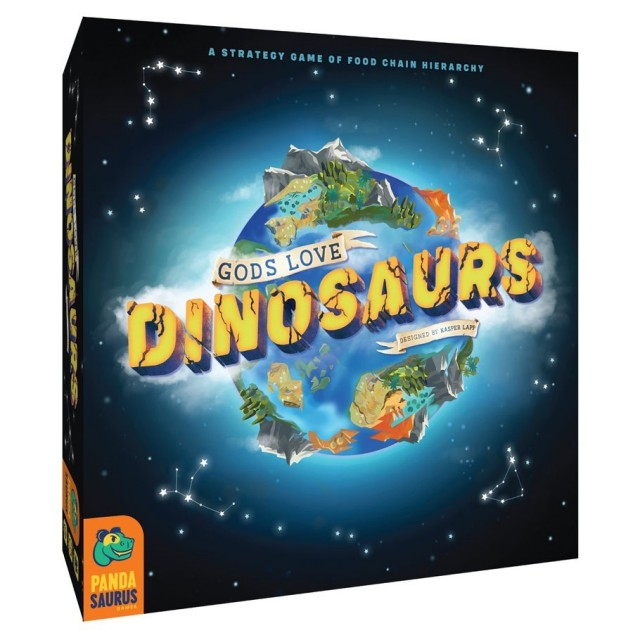 Gods Love Dinosaurs Announced