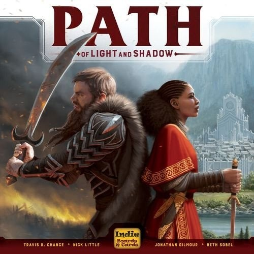Path of Light and Shadow - A Five Second Board Game Review