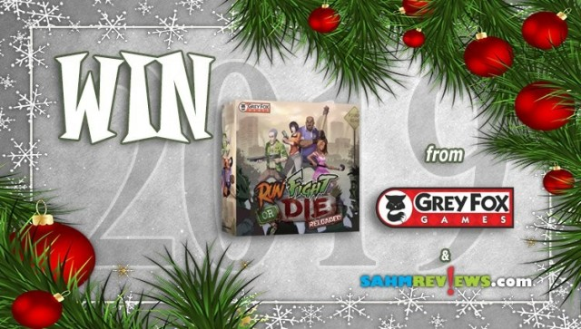 SAHM Holiday Giveaway 2019 - Run, Fight, Or Die: Reloaded Game