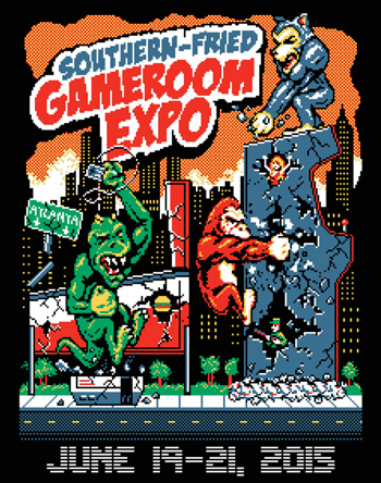 Fathers' Day @ The Southern-Fried Gameroom Expo