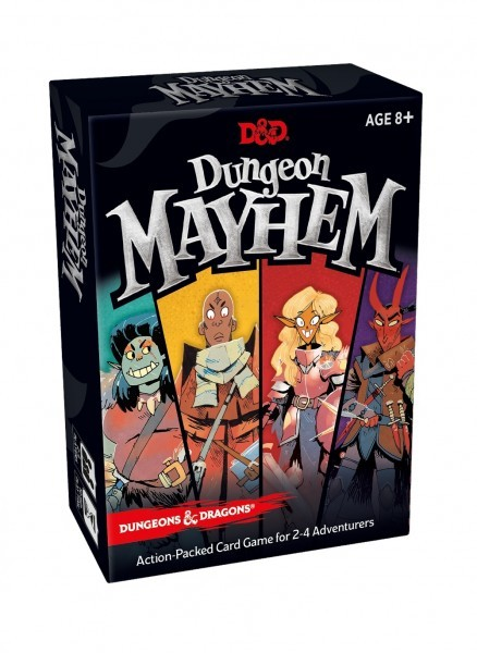 Dungeon Mayhem: Dungeons & Dragons Card Game