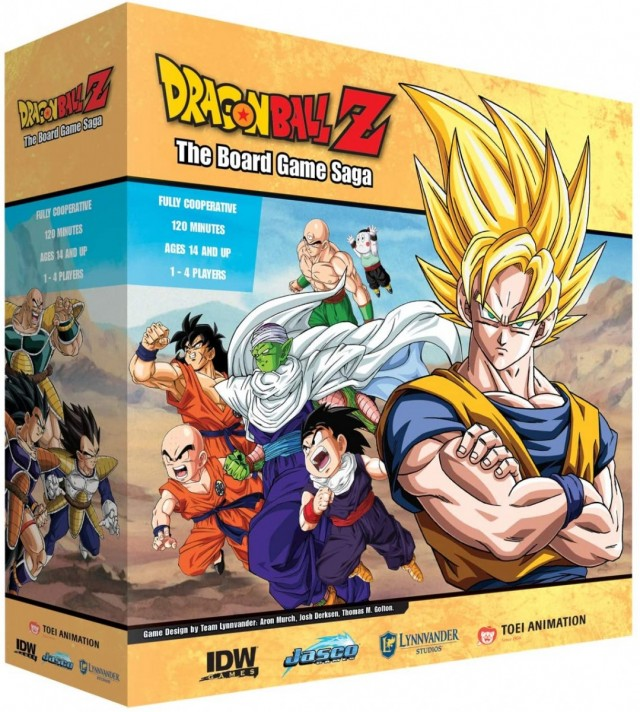 Dragonball Z: The Board Game Saga Announced