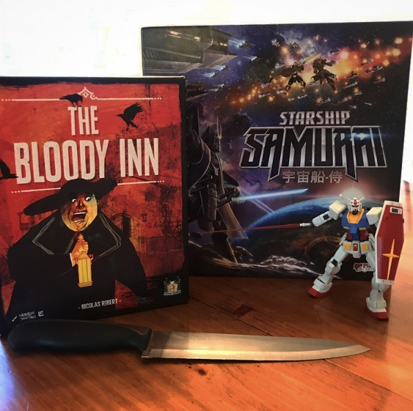 It Came From the Tabletop!  Podcast - The Bloody Inn and Starship Samurai