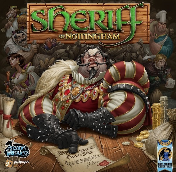 Sheriff Of Nottingham Board Game Review