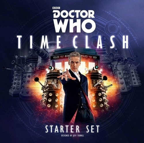 Discount Dive: Doctor Who: Time Clash Board Game Review