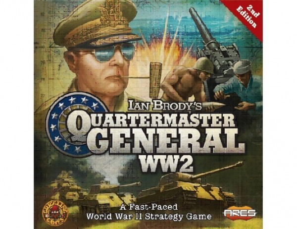 Quartermaster General WW2 second edition - Announced