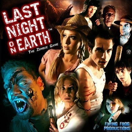Last Night On Earth - A Magical Toolbox Of Fun Loaded With Rotting Flesh…And Dice