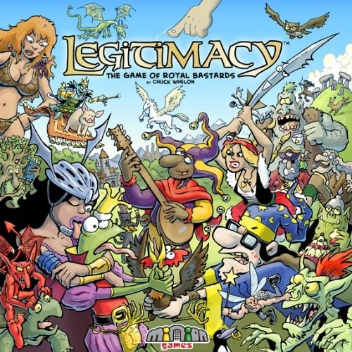 Legitimacy: The Game of Royal Bastards Board Game Review