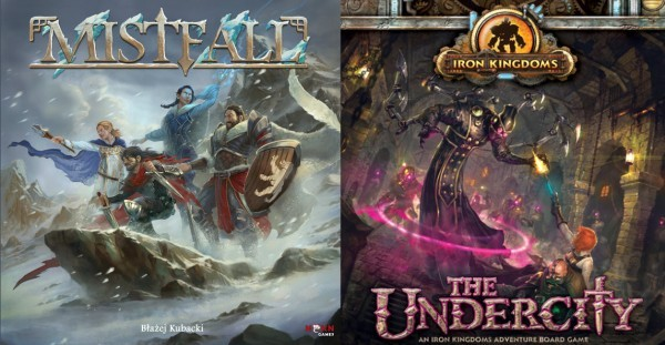 Barnes on Games- Mistfall and Undercity in Review, Ingenious H2H, Halloween Games, SCAM, Champions of Midgard