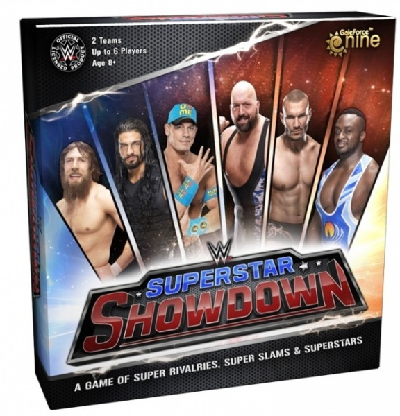 Barnes on Games-  WWE Superstar Showdown