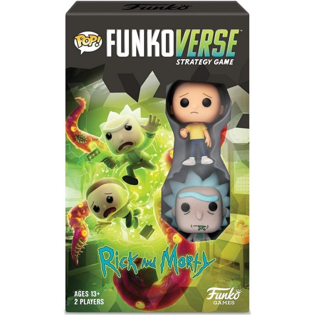 Funkoverse Strategy Game: Rick & Morty