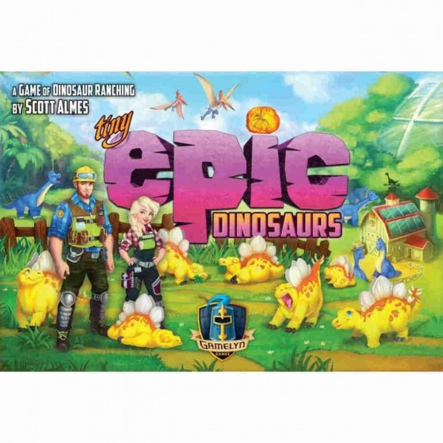 Tiny Epic Dinosaurs to be Released to Retail Fall 2020