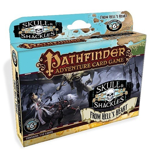 Pathfinder Adventure Card Game: From Hell's Heart - Skull & Shackles Adventure Deck 6