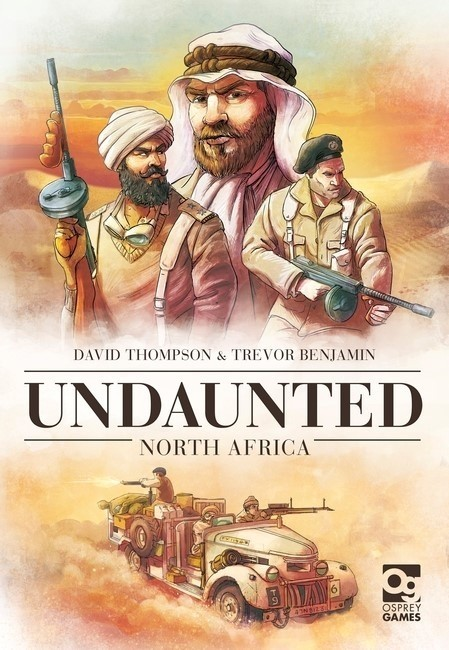 Osprey Games Announces Undaunted: North Africa