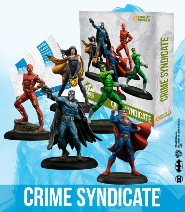 DC Universe Miniature Game: Justice League vs Crime Syndicate - Bring on the Bad Guys