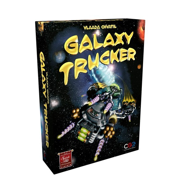 Hooray! I'm A Delivery Boy! - Galaxy Trucker Revisited