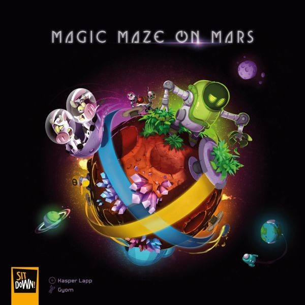 Play Matt: Magic Maze On Mars Review
